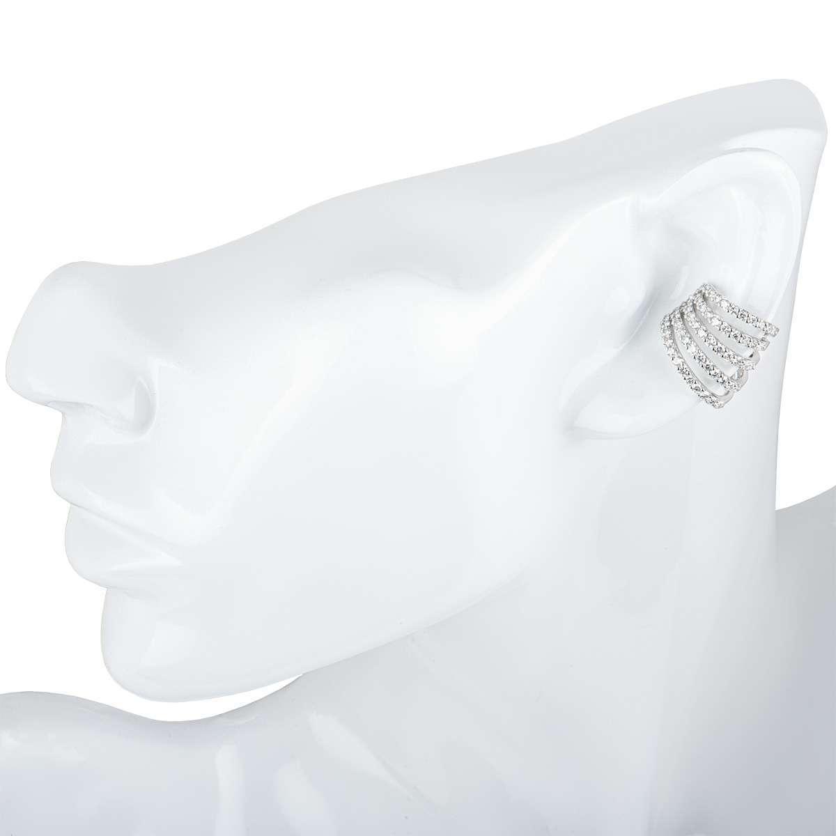 White Gold Diamond Ear Cuff